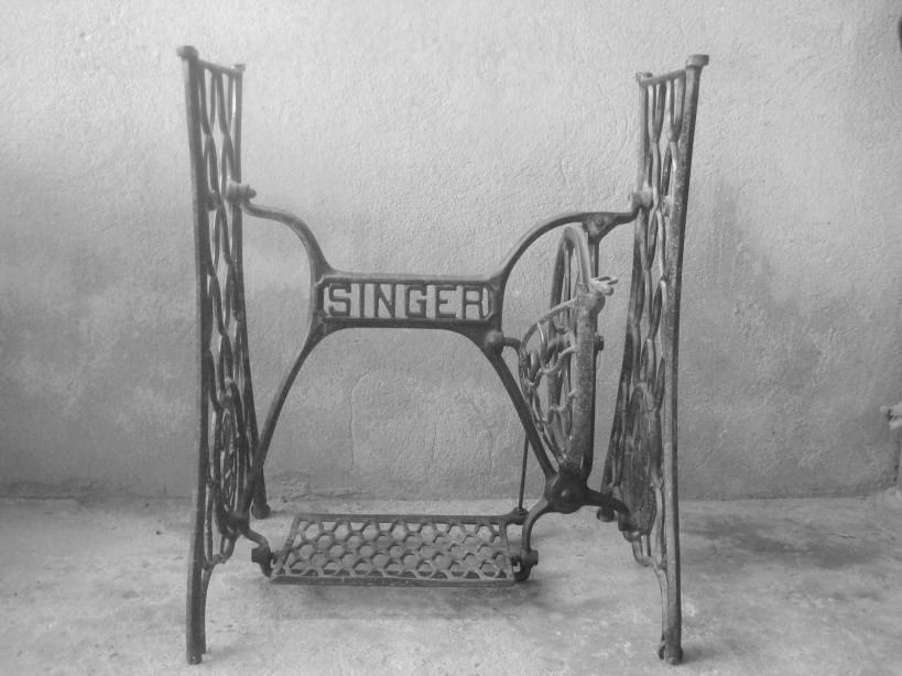 Máquina antiga - foto de Goimar Dantas do Poesia Potiguar